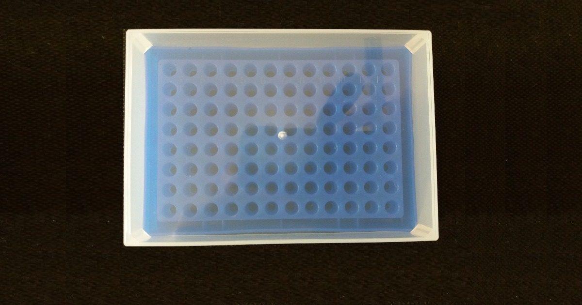 M-550 - 96-ямков статив за PCR епруветки 0.2 ml